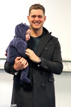 Michael and baby Noah! Adorable....