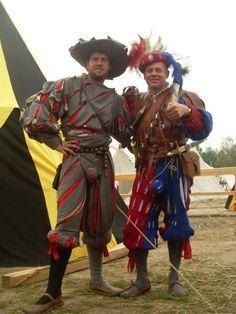 Zwei landsknecht