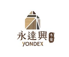 YONDEX logo 居家房屋+負空間永字+自由組合七巧板
