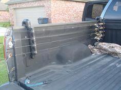Cheap PVC Truck Box Fishing Rod Holder
