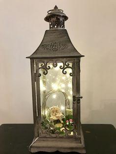Fairy Garden Lantern #fairygardening