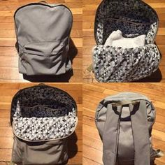 Sewing Backpack Tuto Sac Ideas For 2019 Diy Backpack, Backpack For Teens, Sewing Online, Couture Sewing, Couture Bags, Little Bag, Kids Bags, School Bags, Outfits For Teens