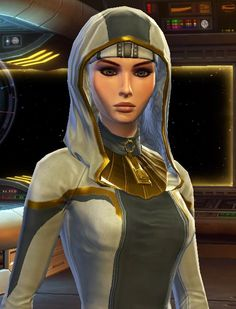 My Jedi Sage, Nyassha. My sister made her so I take no credit for her gorgeousness. XD