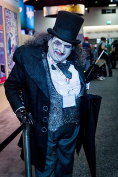 DC Comics Cosplay - The Penguin — Eoghann Irving
