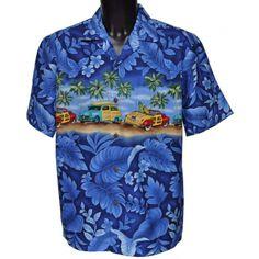 chemise hawaienne ... HIBISCUS EUPHORIA