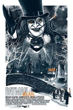 Batman Returns por Patrick Connan