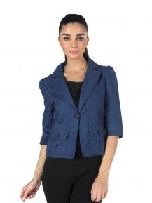 MOJO CLASSIC Jacket IN BLUE  Rs. 1,999