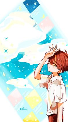 Jibaku Shounen Hanako-Kun X Readers Crazy Wallpaper, Cute Anime Wallpaper, Animes Wallpapers, Cute Wallpapers, Fan Anime, Anime Art, Hanako San, Planets Wallpaper, Cute Anime Pics