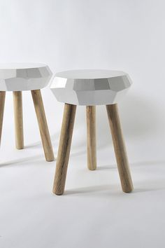 Carpenter Stools by Jethro Macey by dott shot, via Flickr --perfection!