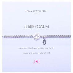 27c9121559 A Little Calm Silver Bracelet By Joma Jewellery: Joma Jewellery:  Amazon.co.uk: Jewellery