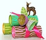 Toilet Paper roll and egg carton gift tube