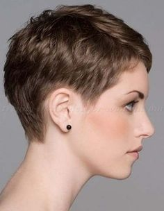 Today we have the most stylish 86 Cute Short Pixie Haircuts. We claim that you have never seen such elegant and eye-catching short hairstyles before. Pixie haircut, of course, offers a lot of options for the hair of the ladies'… Continue Reading → Very Short Hair, Short Hair Cuts For Women, Cropped Hair Styles For Women, Pixie Cuts For Kids, Super Short Pixie, Short Wavy, Older Women Hairstyles, Trendy Hairstyles, Cut Hairstyles