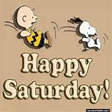 Snoopy And Charlie Brown Happy