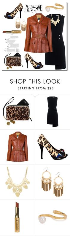 """""""Awesome Styling"""" by helenaymangual ❤ liked on Polyvore featuring Finders Keepers, Jean-Paul Gaultier, Iron Fist, INC International Concepts, Lucky Brand, Jane Iredale and Maria Francesca Pepe"""