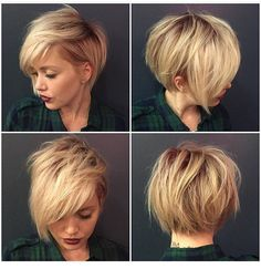 Idée Tendance Coupe & Coiffure Femme 2018 : 30 Stylish Short Hairstyles for Girls and Women: Curly Wavy Straight Hair PoPular Haircuts Straight Hairstyles, Girl Hairstyles, Stylish Hairstyles, Hairstyles 2016, Pinterest Hairstyles, Hairstyles Haircuts, Short Asymmetrical Hairstyles, Asymmetrical Bob Short, 2018 Haircuts
