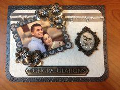 Elegant picture Wedding Card