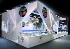 Light+Building 2016 exhibition stand for Ecolux by Escato.