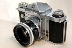 "1958 Asahi Pentax ""S"" SLR film camera"