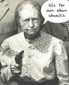Grannie from The Beverly Hillbillies
