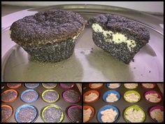 Mákos-túrós fitnesz muffin ~ Éhezésmentes Karcsúság Szafival