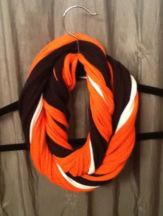 Cleveland Browns   NFL Football - T Shirt Scarf  Infinity Scarf Belt