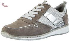 Jenny Sapporo - Sneakers Basses Femme - Grau (Grigio -silber) - 38.5 EU - Chaussures jenny (*Partner-Link)