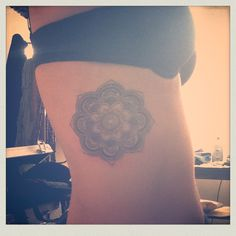 Mandala Tattoo - placement, maybe a little higher