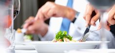 """""""5 Reasons to Schedule More Business Lunches"""": Business lunches are the perfect setting for building relationships."""