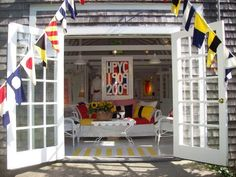 Colorful cottage in Hyannis Port
