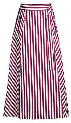 Lafayette 148 New York Women's Nimah Strada Striped Ankle Skirt Modest Skirts, Long Maxi Skirts, Modest Outfits, Skirt Outfits, Classy Outfits, Beautiful Outfits, Dress Skirt, Long Skirt Fashion, Fashion Dresses
