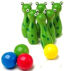 bowling frogs