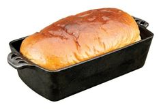 Camp Chef Home Seasoned Cast Iron Bread Pan Camp Chef, Cookware For Life. True Seasoned Interior Cast Iron Cookware is ready to use out of the box Cabin Kitchen Cast Iron Bread, Cast Iron Dutch Oven, Cast Iron Cooking, Camp Chef, Pan Bread, Loaf Pan, Meat Loaf, Low Carb Bread, Keto Bread
