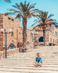 I'm in love with cities I've never been to and people I've never met. Eastern Travel, Jaffa Israel, Tel Aviv Israel, Visit Israel, Jamaica Travel, Senior Trip, Israel Travel, Old City, Travel Goals