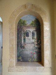 San Antonio Landscape Mural - Mural Photo in San Antonio, Texas