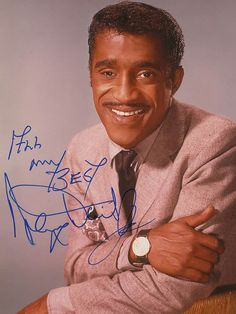 I met Sammy Davis Jr. circa 1970. I was at an air show when I overheard two guys talking about an airplane purchase. I turned to see who it was, and Sammy Davis Jr was standing right behind me.