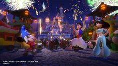 Celebrate 2015 with Disney Infinity (2.0 Edition) New Year's-Themed Toy Box