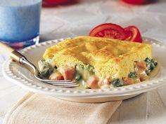 Ham and Broccoli Cheese Pot Pie