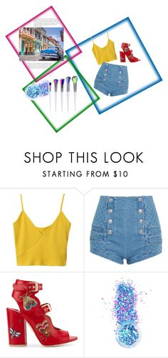 """""""s"""" by mariana2702 ❤ liked on Polyvore featuring Pierre Balmain, Laurence Dacade and In Your Dreams"""