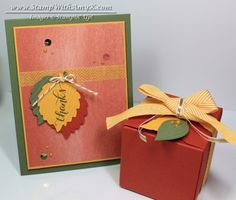 Another Thank You Gift Box - Stampin' Up! - Stamp With Amy K
