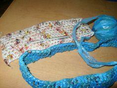 Aprende a tejer con bolsas de plástico | Aprender manualidades es facilisimo.com
