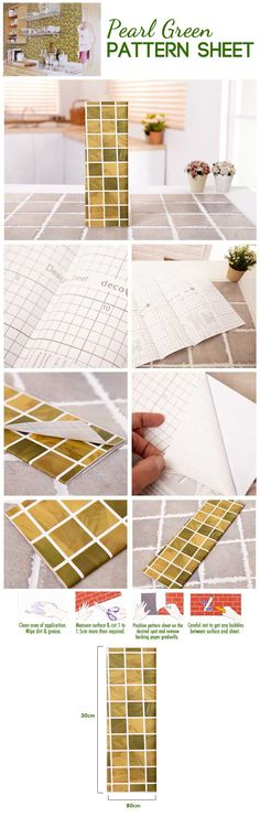 Pearl Green Pattern Sheet Pearl Green Pattern Sheet - TCAT Philippines Online Shopping Mall in the Philippines