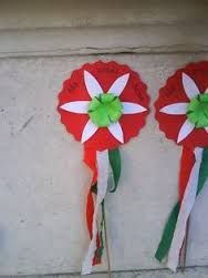 Kapcsolódó kép Crafts For Kids, Arts And Crafts, Turkey Holidays, Board Decoration, National Holidays, Color Crafts, Art N Craft, Republic Day, School Decorations