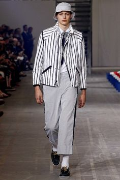 Moncler Gamme Bleu Spring 2016 Menswear Collection - Vogue