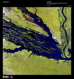 satellite photo - Jau Park