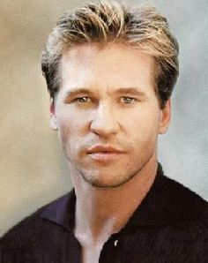 Val Kilmer when he was his best looking version.  I had such a huge crush on him.