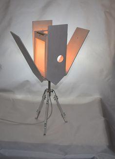 """Lampade da tavolo - Lampada da tavolo """"Nesting box"""" bianca - un prodotto unico di Leftsun su DaWanda"""