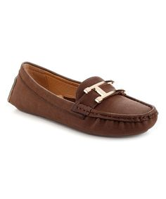 Look at this Brown Prestige Loafer on #zulily today!