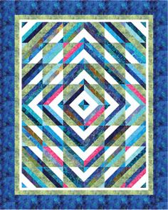 You have to see Jenny Doan's 'tube' quilt on Craftsy! - Looking ... : tube quilt pattern - Adamdwight.com