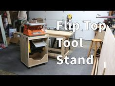 Flip Top Tool Stand - YouTube