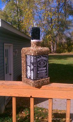 Beautiful Whiskey Bottle Pinata